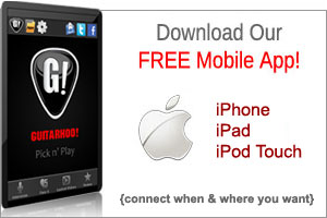 Free Guitarhoo! Mobile App